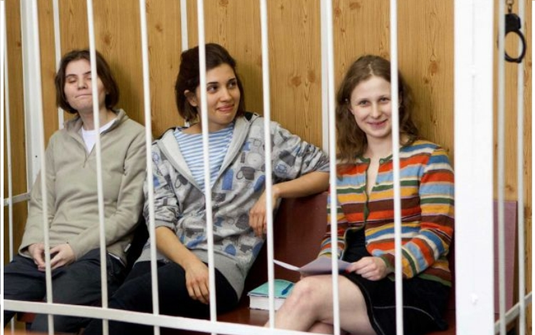 Pussy Riot Behind Bars